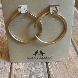 Chloe + Isabel tidal hoop earrings